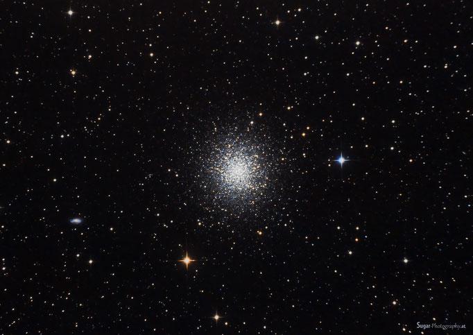 Herkuleshaufen (M13) im Sternbild im Sternbild Herkules. Entfernung ca.25000 Lichtjahre. Aufgenommen am 3.4.2014