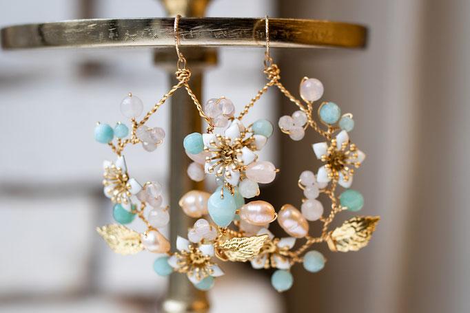 Unsere Lieblinge - Statement-Ohrhänger, die Dein Outfit krönen und für sich stehen. 14 K Gold Filled