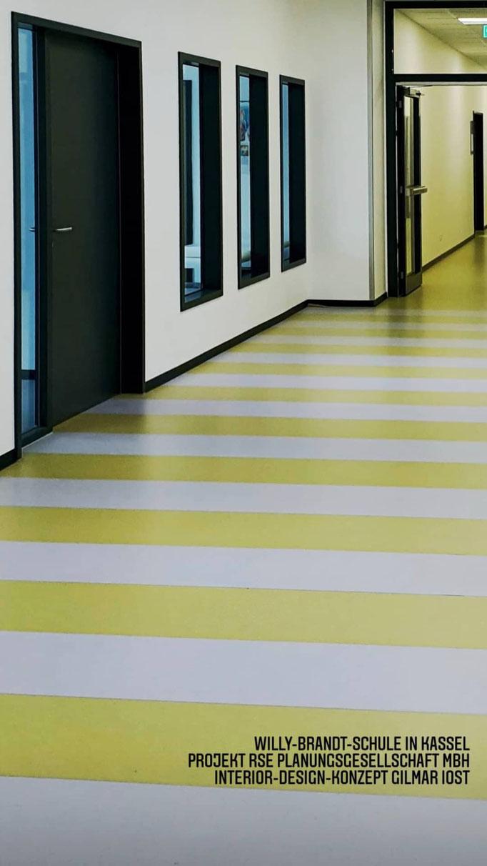Willy-Brandt Schule, Kassel | Interior Design + Farb- und Materialkonzept | RSE Planungsgesellschaft mbH