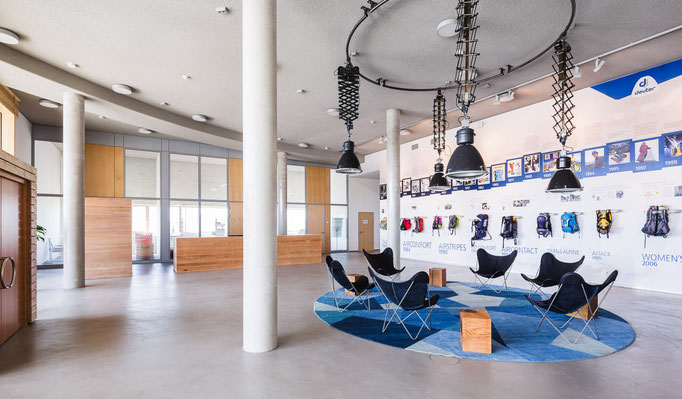 Deuter Sport GmbH & Co. KG - Gersthofen | Interior Design | Auftrag durch RSE Planungsgesellschaft mbH | Kassel
