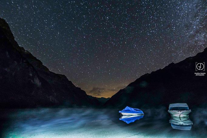 Unter dem Sternenhimmel Klöntalersee GL