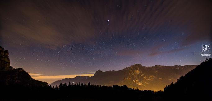 Glarus bei Nacht