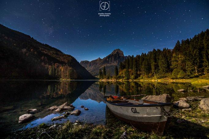 Obersee im Mondlicht