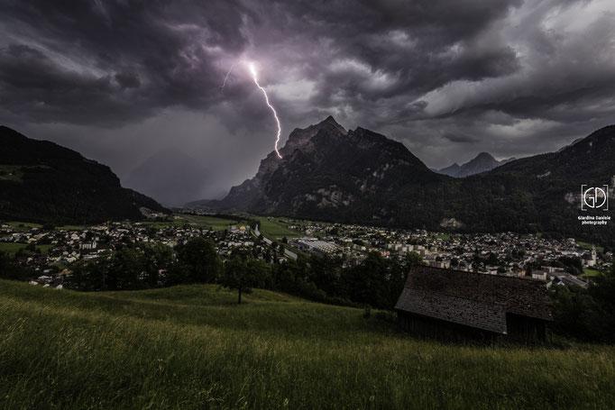 Gewitter im Glarnerland