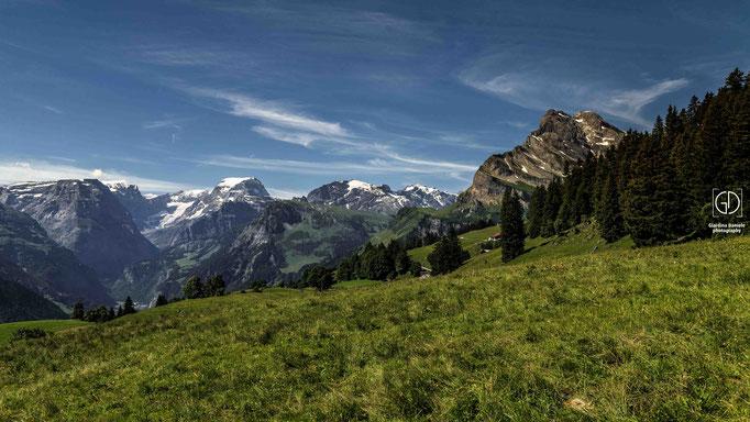 Aussicht aus Braunwald