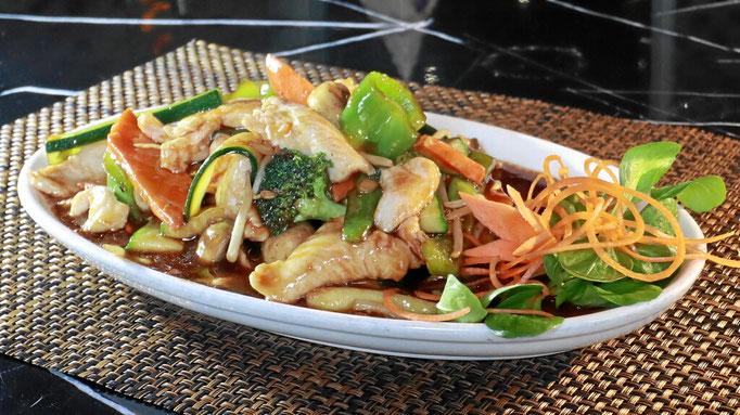 Hühnchen Chop Suey