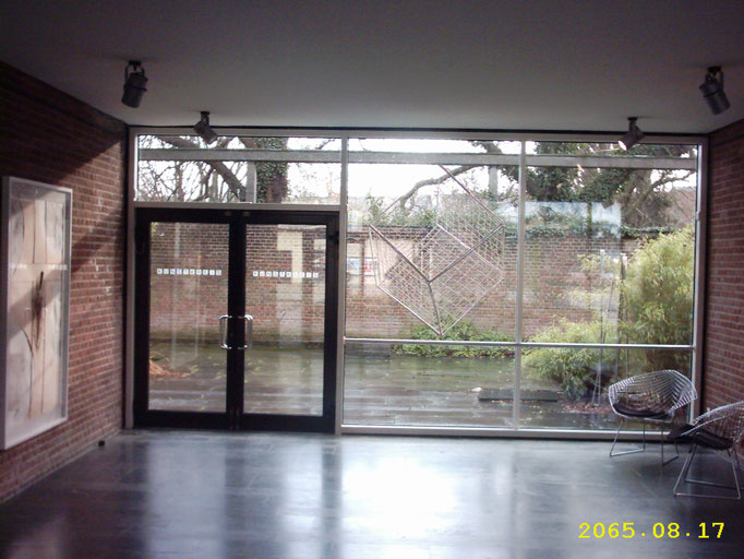Foyer mit Blick in´s Atrium