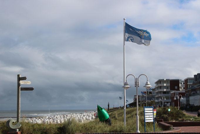 Strandpromenade altes Seezeichen