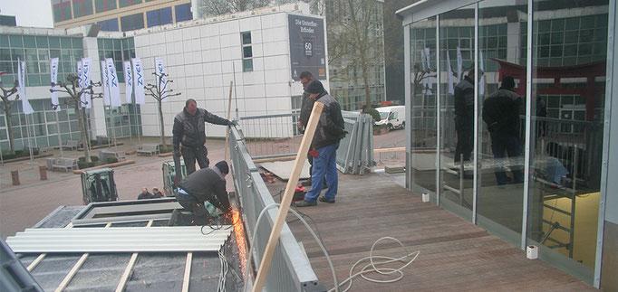 Aufbau – Groben Ingenieure auf der light + building 2016