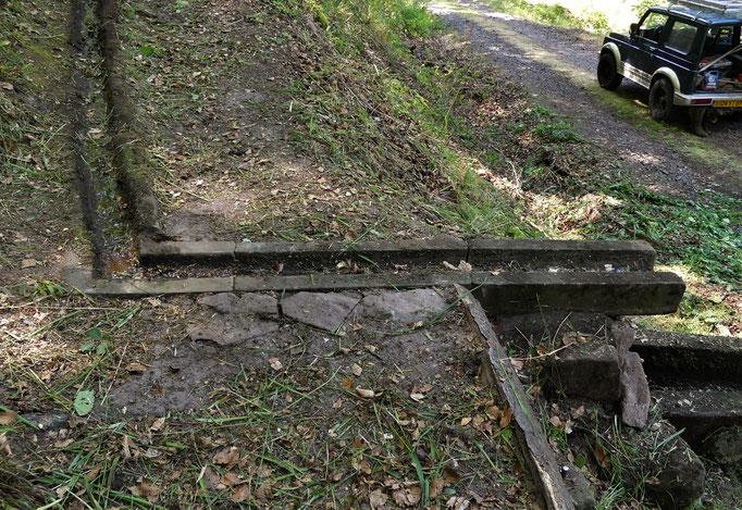 Réparation caniveau Fontaine Lucie