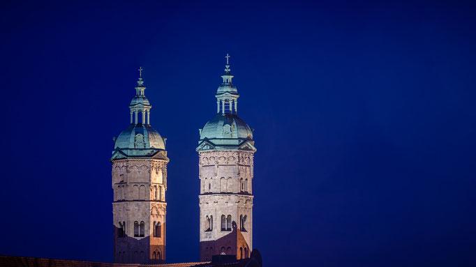 Dom in Naumburg - Blaue Stunde