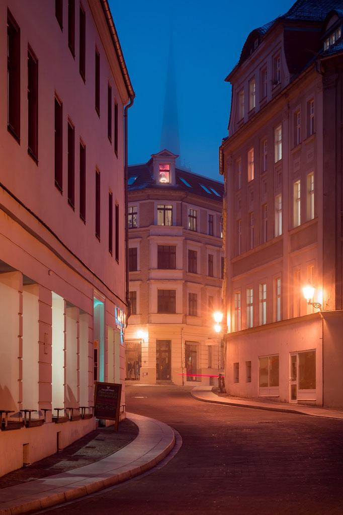 Kleine Ulrichstraße im Herbst