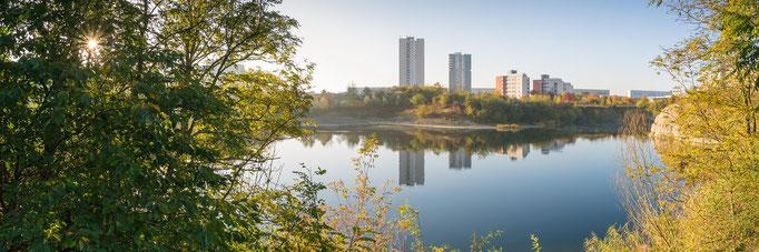 Panorama vom Bruchsee