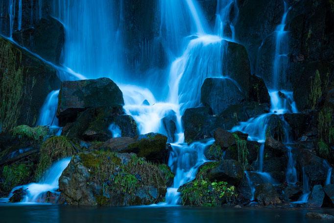 Wasserfall in Königshütte im Harz