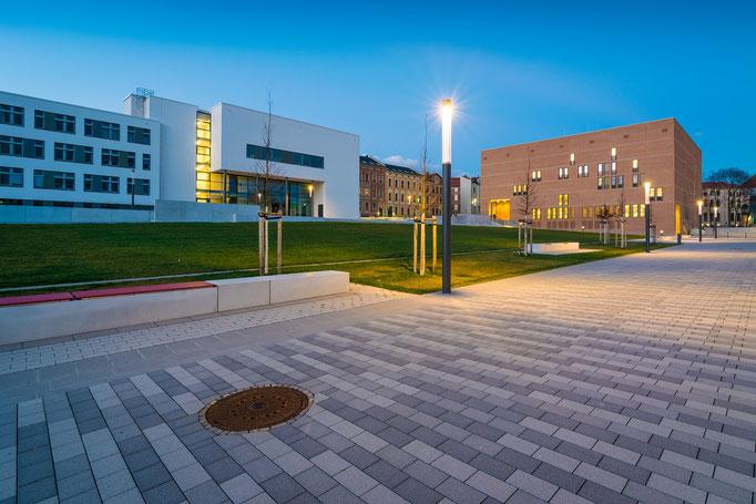 Steintor Campus am Abend
