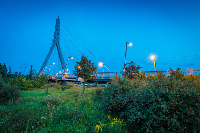 Berliner Brücke im Sommer