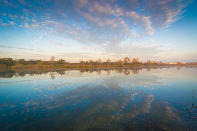 Herbstmorgen am Hufeisensee