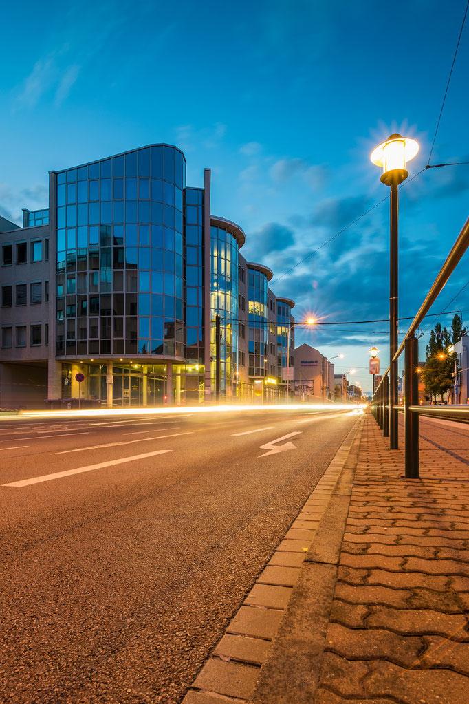 Bürogebäude in der Merseburger Straße