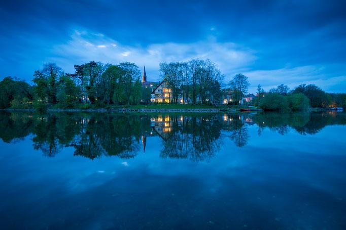 Blaue Stunde in Kröllwitz