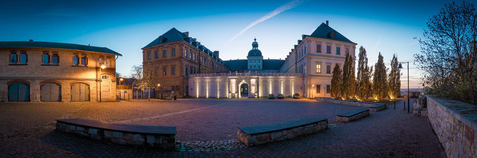 Schloss in Weißenfels - Panorama