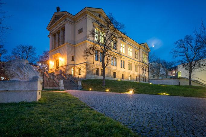 Robertinum auf dem Universitätsplatz
