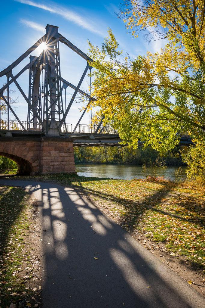 Herbst an der Peißnitzbrücke
