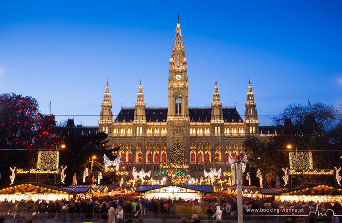 Christkindlmarkt am Rathausplatz, booking Vienna, Hotel Vienna buchen, Hotels in Wien
