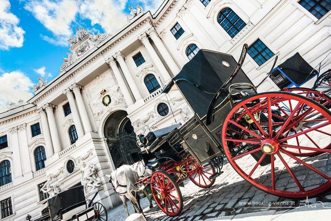 Bildermotiv Fiaker, booking Vienna, günstige Hotels Wien, Hotel Wien im Zentrum buchen
