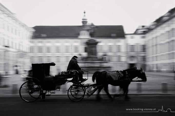 Eine Fiaker Tour in Wien, booking Vienna, günstige Hotels in Wien, Hotel Vienna buchen