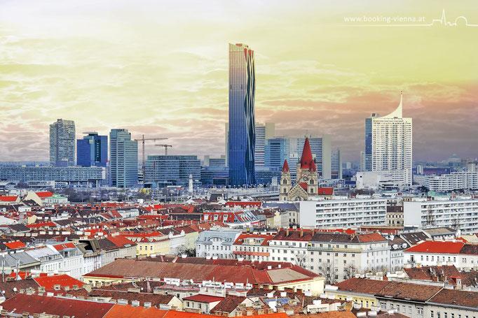 Neue Donau, Donauinsel, booking Vienna, günstige Hotels in Wien, Hotel Vienna buchen