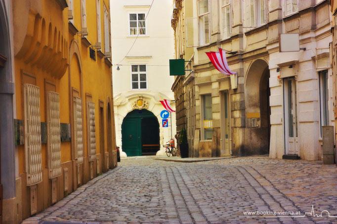 Wiener historische Gassen, booking Vienna, Hotel Vienna buchen, Hotels in Wien