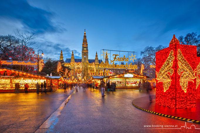 Ein Traum in Wien, Christkindlmarkt, booking Vienna, Hotel Vienna buchen, Hotels in Wien