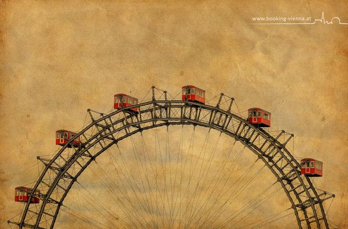 Das Wiener Riesenrad, Prater, booking Vienna, Hotel Vienna buchen, Hotels in Wien