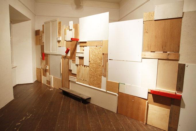 Ausstellung 'all Ein' im Schloss Burgau   2011   Rauminstallation