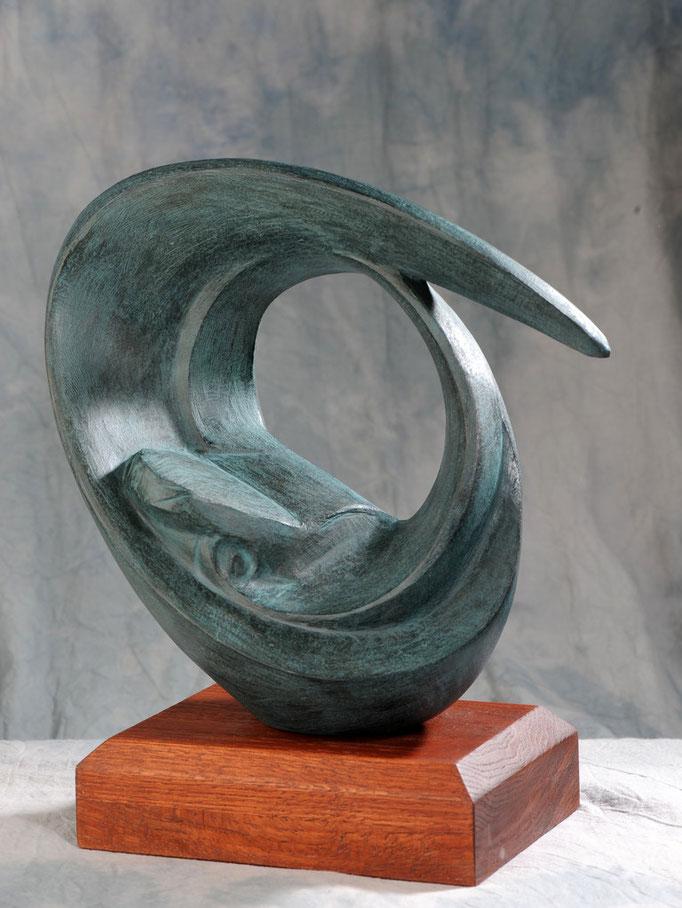 DINAMISMO (Premio di concorso in memoria di Ermanno Cressoni). Terracotta Patinata 30x30x50