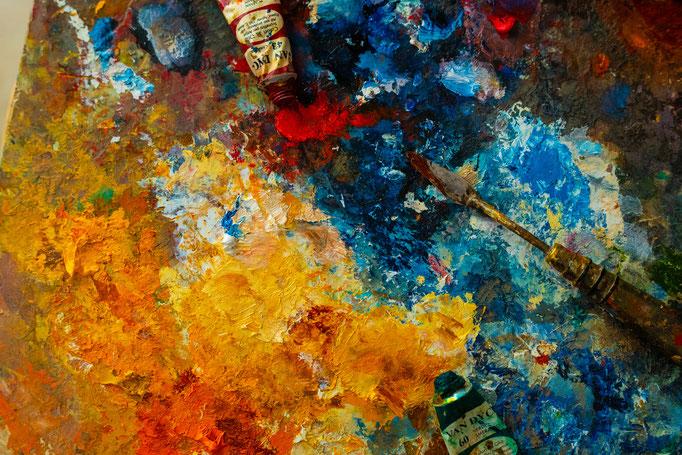 Tavolozza colori, Fanizza art-atelier