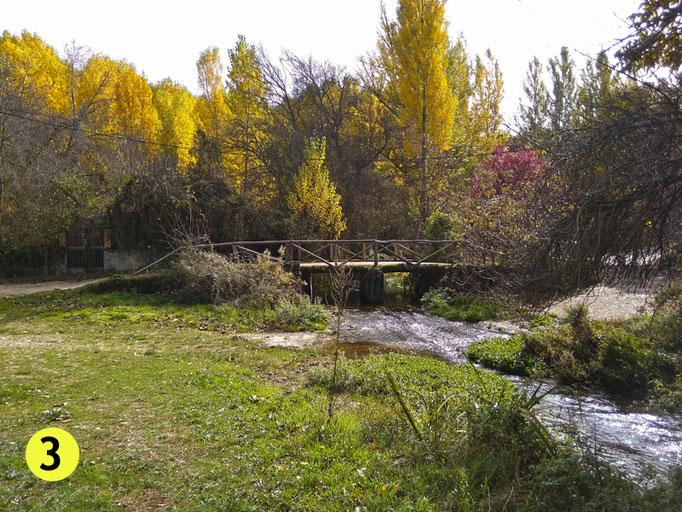 El puente una vez ya atravesado