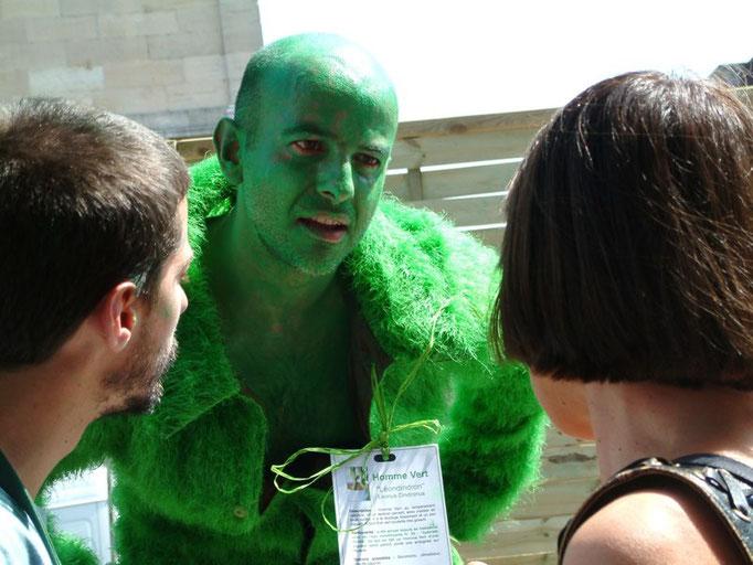 "Léondindron - spectacle ""l'Homme Vert""- Aline Siffert"
