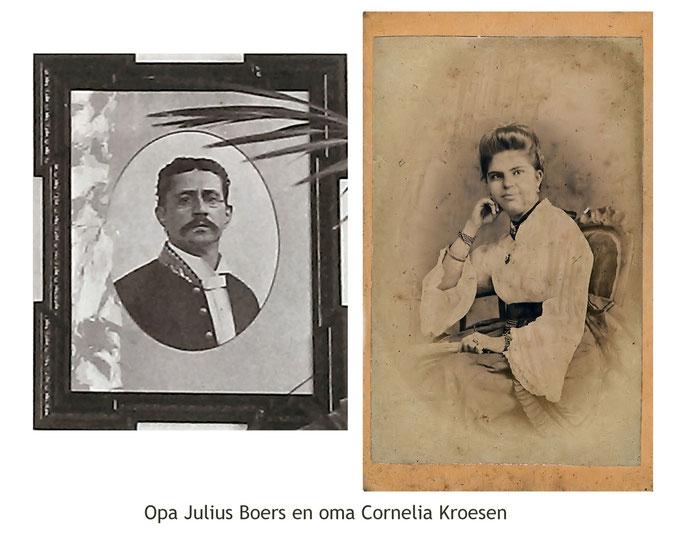 Julius Boers and Cornelia helena Geertruida Kroesen