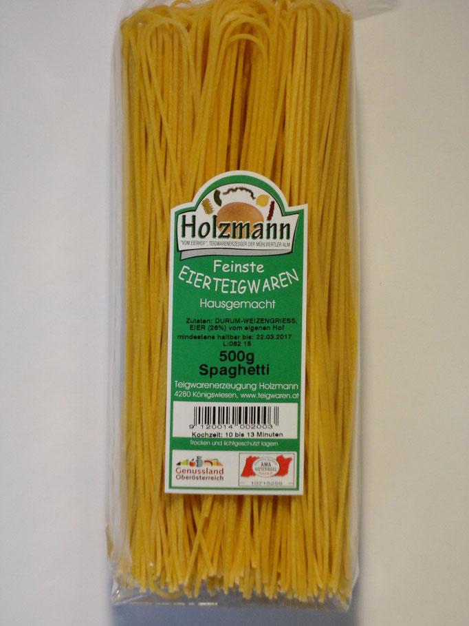 Spaghetti - traditionell hängend getrocknet - Handwerkskunst trifft Geschmackserlebnis