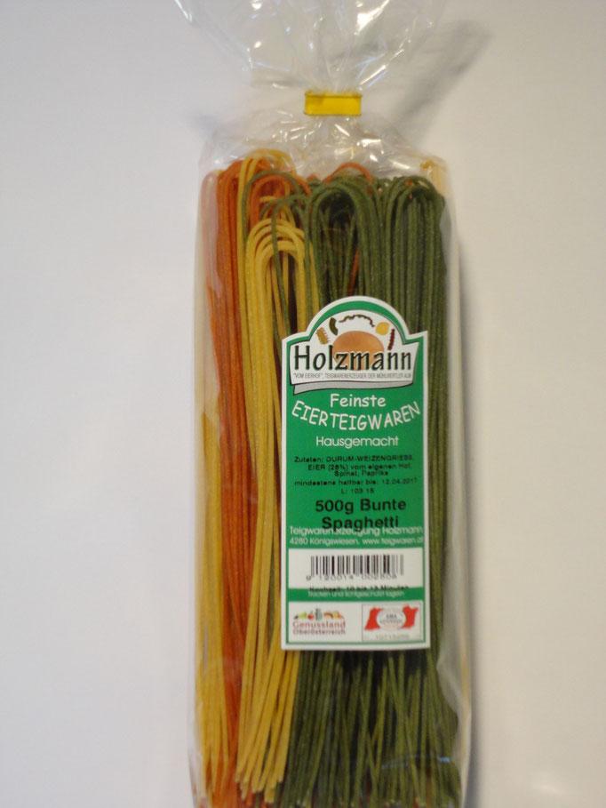 Spaghetti bunt - Tricolore-Spaß auf dem Teller