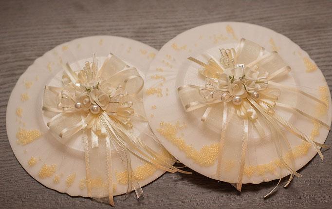 Свадебные тарелки