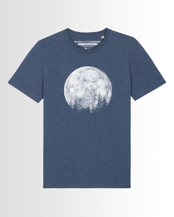Vollmond Wald T-Shirt