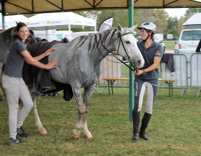 2012, Schweizermeisterschaft Sonja mit Okkarina