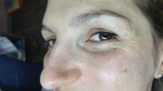 Eye-liner fin
