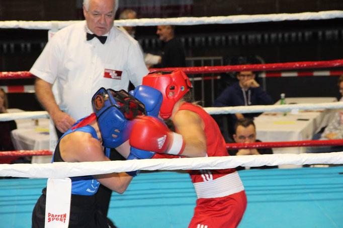 Emma Payne siegte für den Box-Ring Zürichsee
