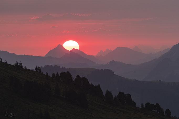 Sonnenaufgang Niederhorn