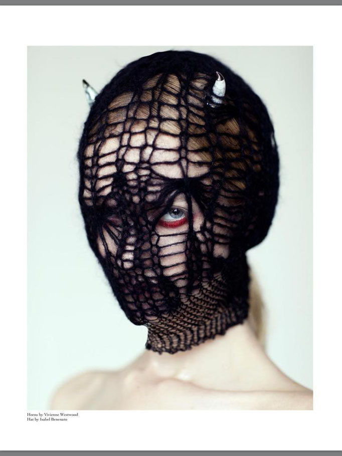 """ODD"" - jungle magazine - photographer: anne højlung-nicolajsen - styling: mekke mikkelsen - hair: melisande paige - makeup: anie lamm-siu - model: ida dyberg"