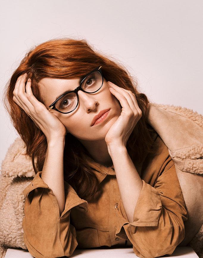 """brillenmanufaktur"" - photography: katsey - styling: rike heimetseder - makeup & hair: anie lamm-siu"