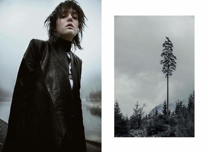 """wintertale"" - someslashthings magazine - photographer: alice berg - styling: christine legrand - hair: hikage yumiko - makeup: anie lamm-siu - model: mariia s. @crystalmodelmanagement"